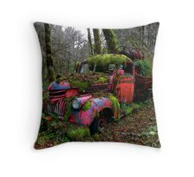 Poor Old Chevy Throw Pillow
