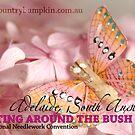 BATB 2012 - Butterfly on Pink Petals by georgiegirl