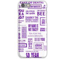 Eddie Izzard - Izzardisms! iPhone Case/Skin