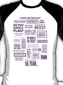 Eddie Izzard - Izzardisms! T-Shirt