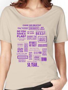 Eddie Izzard - Izzardisms! Women's Relaxed Fit T-Shirt