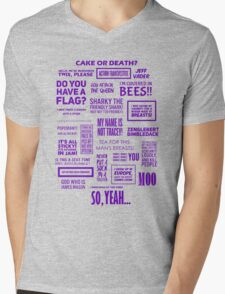Eddie Izzard - Izzardisms! Mens V-Neck T-Shirt