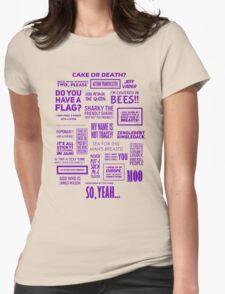Eddie Izzard - Izzardisms! Womens Fitted T-Shirt