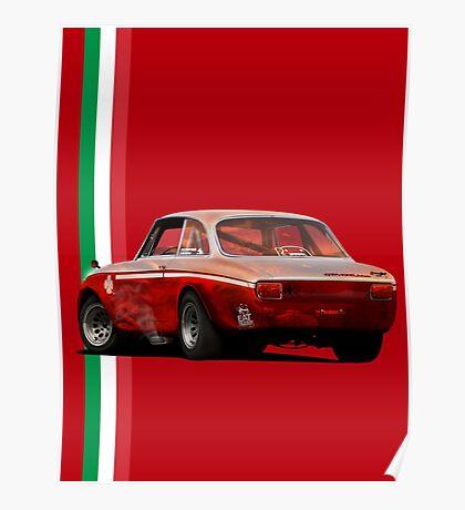 Alfa Romeo Giulia 1300 Junior GTA Poster
