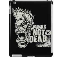 Punk is not dead iPad Case/Skin