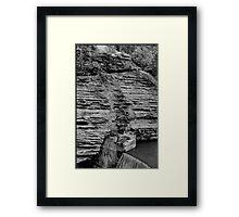 Ithaca Dam Framed Print
