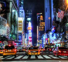 Urban Color Photography - Times Square in Color by Fojo