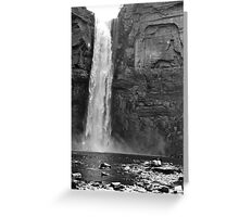 Ithaca Waterfall Greeting Card