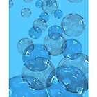 Blue Bubbles by ramanandr