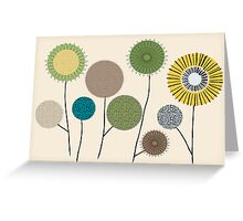 Beach Flower Pods, Graphics Greeting Card
