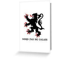 lion nord pas de calais scotland chti Ch'ti Greeting Card