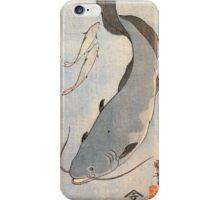 Japanese Print:  Light Blue Fish iPhone Case/Skin