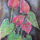 Anthurium by Thea T