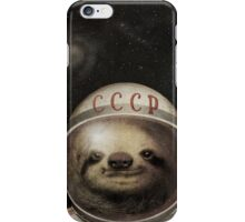 Cosmonaut Sloth iPhone Case/Skin
