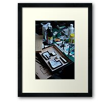 Geek ? - Work in progress Framed Print