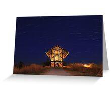 Shrine at Night Greeting Card