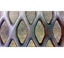 Metal Grate Photographic Print