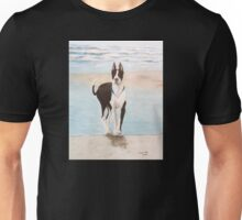 Great Dane Dog Ocean Surf Cathy Peek Animal Unisex T-Shirt