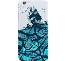 Upon The Sea iPhone Case/Skin