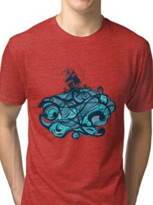 Upon The Sea Tri-blend T-Shirt