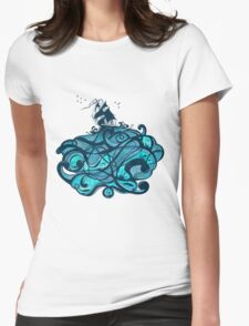 Upon The Sea Womens Fitted T-Shirt