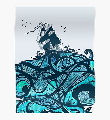 Upon The Sea Poster