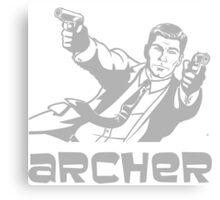 Archer TV Series V.1 Canvas Print