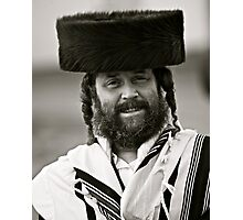 7 ★★★★★. My features Art that I LOVE!!!  A tallit with black stripes according to the Orthodox Ashkenasic tradition . by  Doctor Faustus. Featured in Hat Heads. & Male Appreciation A dank ojch zejer!  Photographic Print