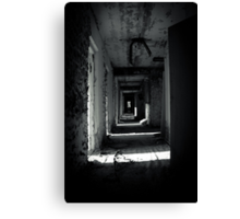 Your Room is the Last on the Left Canvas Print