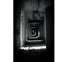 Your Room is the Last on the Left Photographic Print