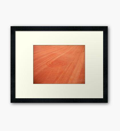 Pictographs Framed Print