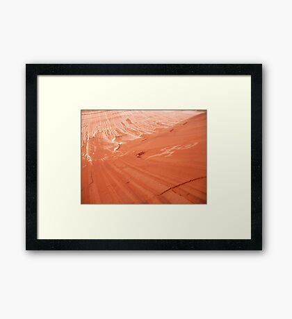 Defiance House Pictographs Framed Print