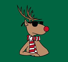 Christmas with Cool Deer  Unisex T-Shirt