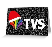 Christmas TVS Greeting Card