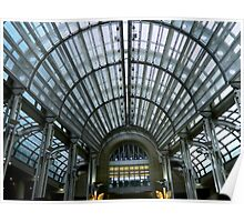 Ronald Reagan Building - roof from inside  ^ Poster