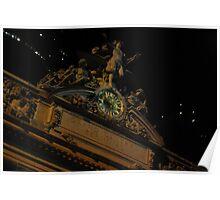 Tiffany Clock @ Grand Central Poster