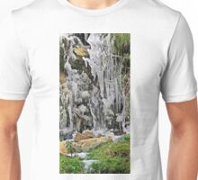 Spain, The Pyrenees Mountains ice droplets on a tree Unisex T-Shirt