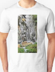 Spain, The Pyrenees Mountains ice droplets on a tree T-Shirt