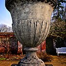Flower Urn at Blickling by Simon Duckworth