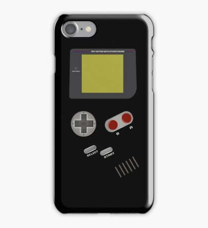 Video Retro Game Boy Console  iPhone Case/Skin