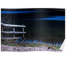 Submerged Fence. Poster