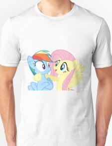 Rainbow Dash & Fluttershy Unisex T-Shirt
