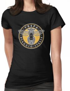 Vespa Piaggio Italia Womens Fitted T-Shirt