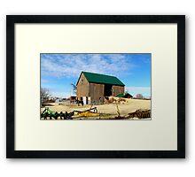 The Farmers Toy's Framed Print