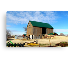 The Farmers Toy's Canvas Print