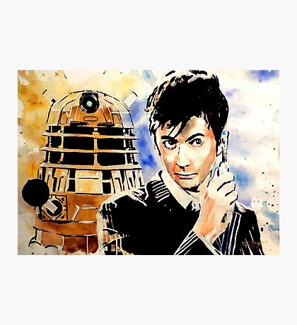 The 10th Doctor Photographic Print