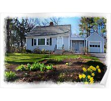 Springtime, West Concord  Poster