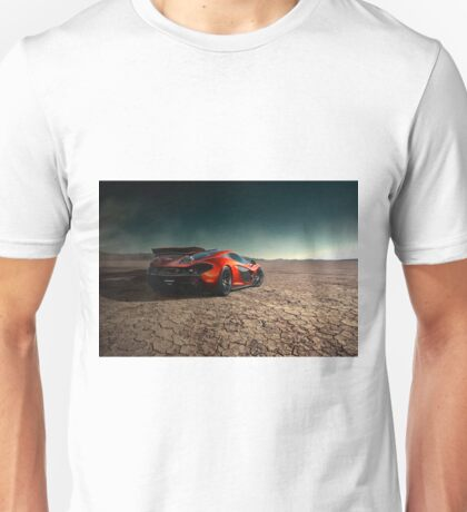 McLaren P1 | Black Rock Unisex T-Shirt