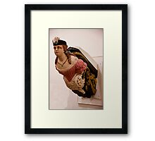 M'lady Of The Bow Framed Print