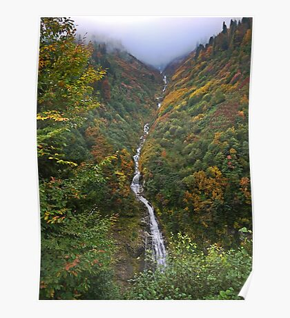 Turkey, Trabzon Province, a water stream Poster